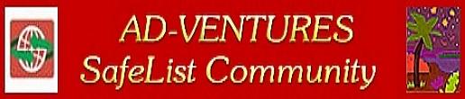 Ad-Ventures SafeList Community